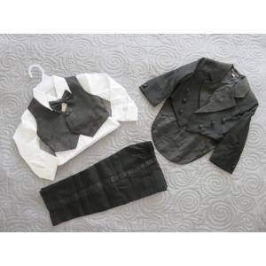Kisfiú alkalmi szmoking, fekete (86-92)