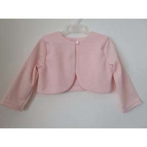 Rózsaszín alkalmi kislány boleró