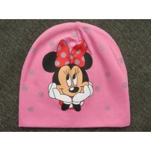 Minnie egér mintás kislány sapka (98/110)