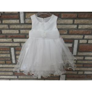 Fehér keresztelő/alkalmi kislány tüll ruha