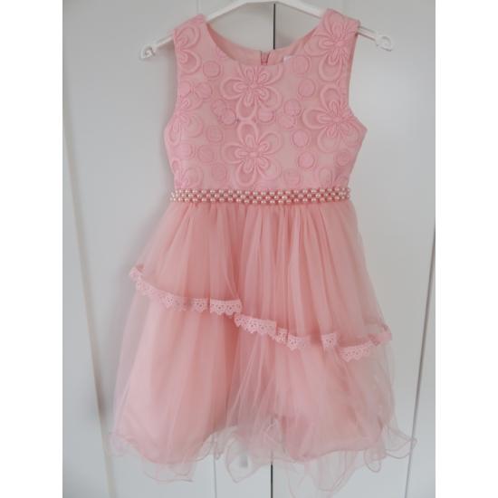 Rózsaszín kislány ruha (116)