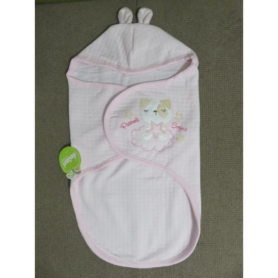 Rózsaszín Bebessi pólyazsák (0-3 hó)