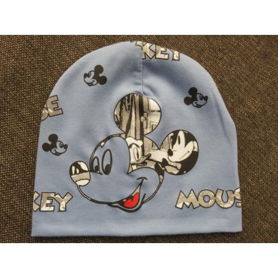 Mickey egér mintás kisfiú sapka (98/110)