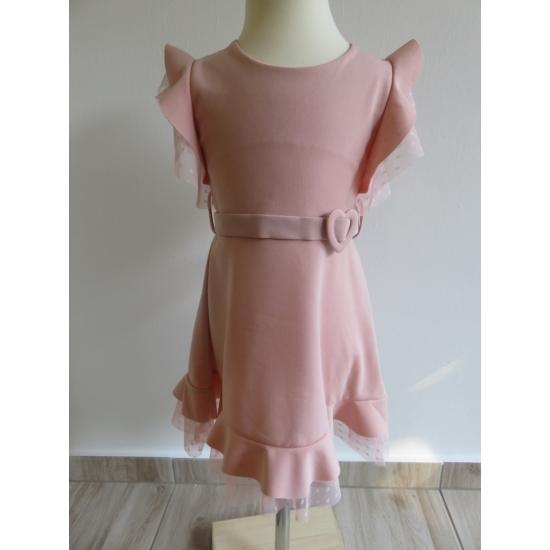 Rózsaszín kislány ruha (104)