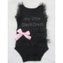 Kép 2/5 - My Little Black Dress kislány body - tüll  (86)