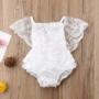 Kép 2/4 - Fehér fodros csipke body babafotózásra (62-68)