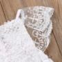 Kép 4/4 - Fehér fodros csipke body babafotózásra (62-68)