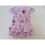 Kép 2/2 - Pipacs mintás, könnyű, nyári kislány ruha (92)