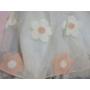 Kép 3/4 - Rózsaszín-fehér kislány ruha (92-98)