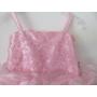 Kép 2/5 - Rózsaszín gyönyörű, habos-babos kislány ruha