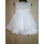 Kép 1/3 - Hófehér kislány keresztelő ruha (80)