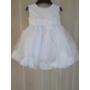Kép 2/3 - Hófehér kislány keresztelő ruha (80)