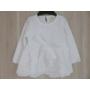 Kép 1/4 - Hófehér keresztelő kislány ruha (80-86)