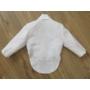 Kép 3/10 - Kisfiú keresztelő/alkalmi ruha, szmoking, fehér (86)