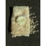 Kép 2/5 - Csipkés újszülött kendő hajpánttal babafotózásra  - vaj (0-6 hó)