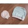 Kép 5/8 - 5 részes újszülött kislány babaruha szett - kék, nyuszis (56/62)