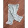 Kép 6/8 - 5 részes újszülött kislány babaruha szett - kék, nyuszis (56/62)