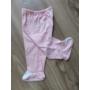 Kép 6/8 - 5 részes újszülött kislány babaruha szett - rózsaszín, nyuszis (56/62)