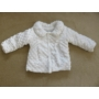 Kép 2/4 - Hófehér keresztelő/alkalmi kislány kabát - minky