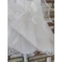 Kép 4/4 - Fehér keresztelő/alkalmi kislány tüll ruha