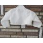 Kép 6/8 - Törtfehér kislány keresztelő/alkalmi ruha boleróval
