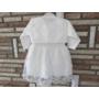 Kép 4/8 - Törtfehér kislány keresztelő/alkalmi ruha boleróval
