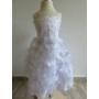 Kép 5/10 - Hófehér, gyönyörű, habos-babos kislány alkalmi ruha