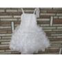 Kép 1/10 - Hófehér, gyönyörű, habos-babos kislány alkalmi ruha (98)