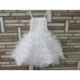 Kép 2/10 - Hófehér, gyönyörű, habos-babos kislány alkalmi ruha