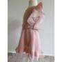 Kép 3/5 - Rózsaszín kislány ruha (104)