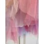 Kép 3/4 - Többszínű kislány tüll szoknya - lila